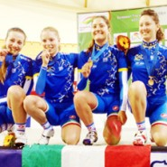 Francesca Pattaro e Company azzurrine d'oro